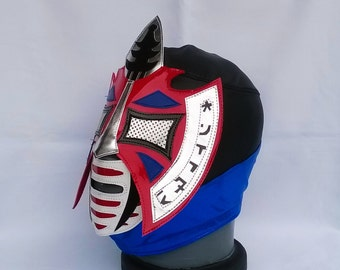 El Oriental Wrestling Mask Mexican Luchador Mardi Gras day of the dead halloween party masks Horror movie masquerade Classic Lucha Libre