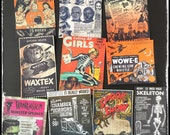Vintage Halloween and Horror Ads - All Stickers