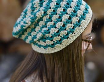 Summer Festival Slouchy Crochet Pattern PDF DOWNLOAD