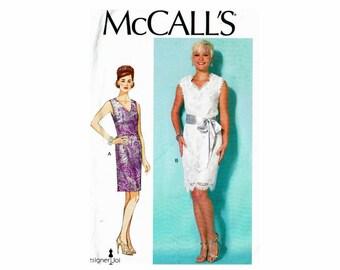 Designer Joi Uncut Dress Sewing Pattern McCalls 499/7318 Sizes 14 16 18 20 22 Bust 36 38 40 42 44
