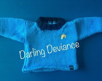 Star Trek Inspired Baby and Toddler Sweaters