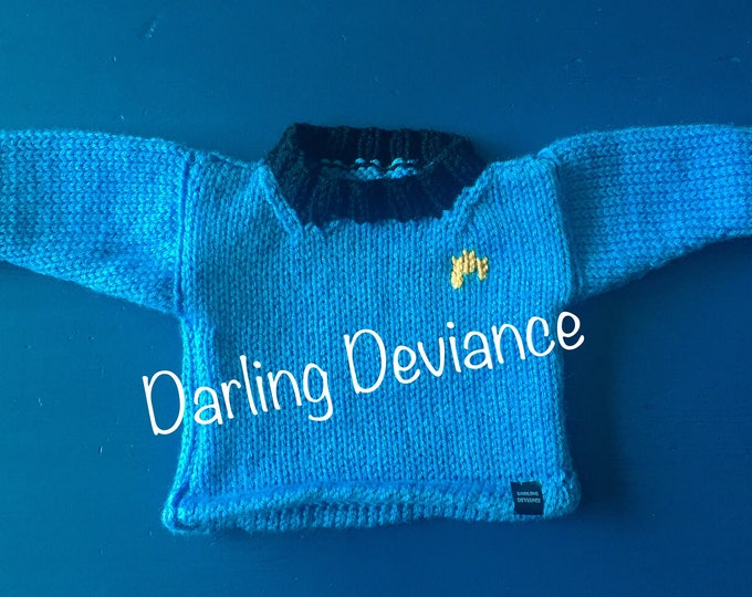 Featured listing image: Star Trek Inspired Baby and Toddler Sweaters