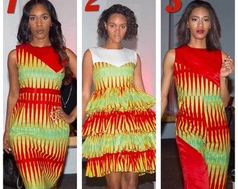 African Ankara Dresses/Jumper; African Dinner Dress, African Clothing; African Print Dress; African Clothing; African Ankara Maxi Dress