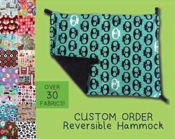 CHOOSE A FABRIC Reversible Hammock