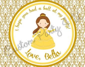 Belle Favor Tag