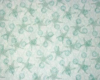 Susan Winget Fabric, Starfish Fabric, By The Yard, Boho Coastal Starfish Texture Collection, Starfish, Quilting Sewing Fabric, Beach Fabric