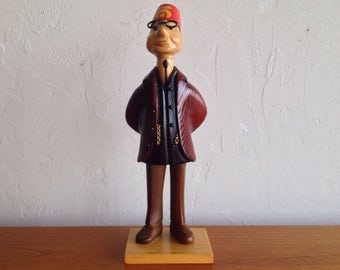 Hand Carved Shriner Figurine by Romer of Italy
