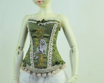 Protector of Nature BJD Art Line Corset for Fairyland Minifee MSD