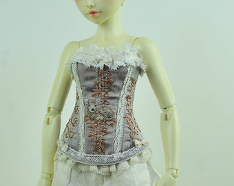 Wonderland Deer BJD Art Line Corset for Fairyland Minifee MSD
