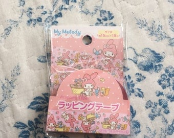 NEW Wrapping Sellotape Sanrio My Melody