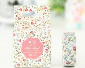 Little Flowers Washi Tape 15mm x 7m