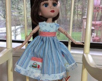 Doll Clothes,  Country Girl, pockets, 3 pc, Tonner,   Patience