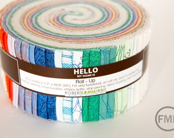 Friedlander Roll Up, Complete Collection, Carolyln Friedlander, Robert Kaufman Fabrics, 100% cotton fabric jelly roll, RU-635-40
