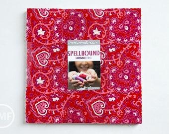 Spellbound Layer Cake, Urban Chiks, Moda Fabrics, Pre-Cut Fabric Squares, Ten Inch Fabric Squares, 31110LC