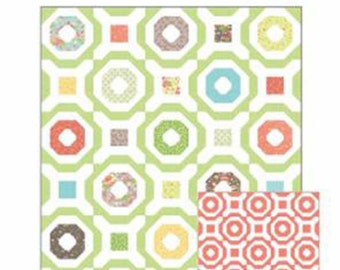 "SALE Wheelhouse Quilt Pattern, CQ116, by Corey Yoder of Moda Fabrics, 60""x72"""