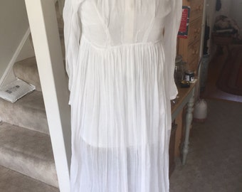 Antique Girls muslin underdress small size