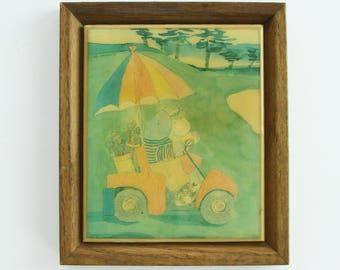"Shop ""hippopotamus"" in Painting"