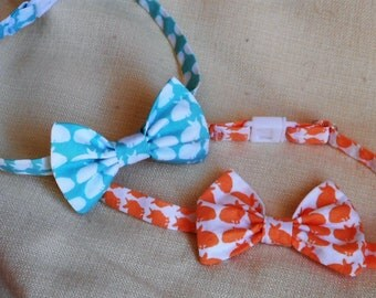 Easter  Bunny Bow Tie For Toddlers and Boys/Spring Bow Tie