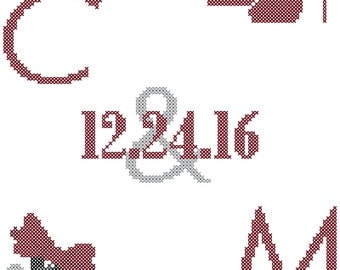 Wedding Cross Stitch Pattern/I do Me Too Cross Stitch Pattern/High Heels Cross Stitch Pattern/Bow Tie Cross Stitch Pattern