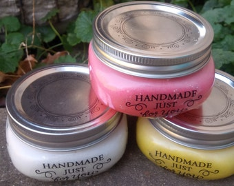 body scrubs, set 3, bath and beauty, bath and body, scrubs, body scrubs, sugar scrubs, exfoliators, normas bath and body