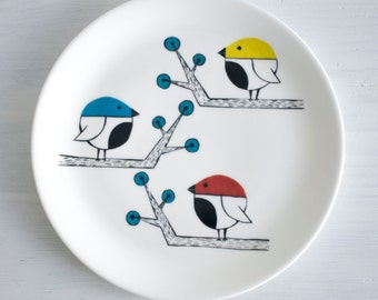 Three little birds plate