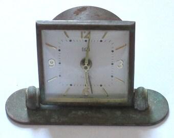 Antique Elgin Alarm Clock