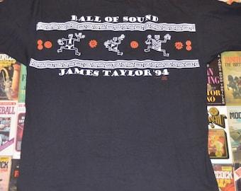 Vintage 1994 James Taylor Ball of Sound Tour Shirt!!!