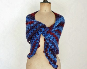 Triangle shawl triangular scarf stole