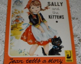 Sally and the Kittens by Jean Hardy Vintage Softcover book