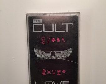 The Cult LOVE Cassette Tape