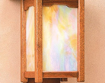 Mission Style Wall Sconce 2A
