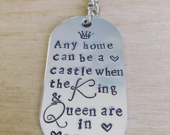 King and Queen .....key ring...