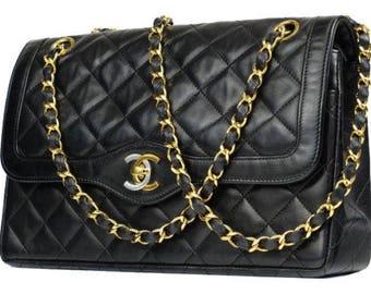 Authentic  Chanel Handbag Double Flap