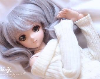 DollfieDream DD SD 1/3 twin tail wig 23cm- Pre-order 12+1 Colors
