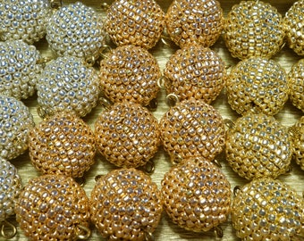 Jewelry Making Supplies. Beading beads of SILVER, GOLD or red gold beads - choose your color/ Top quality TOHO beads - coating not wear off!