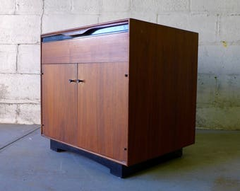 JOHN STUART Mid Century Modern CABINET nightstand