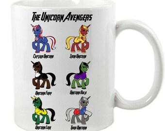 Unicorn Avengers Mug