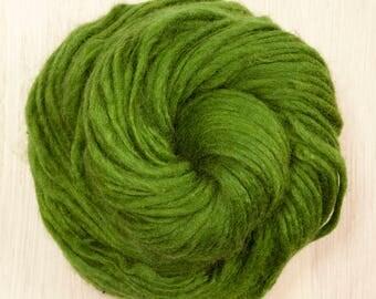 Yak Wool Yarn in Emerald Green