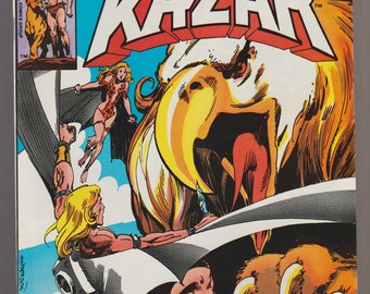 Kazar vintage comic book Pub. 1981 Marvel Comics Group Stan Lee Carlos Garron Brent Anderson