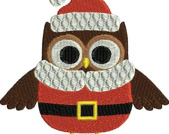 Christmas Owl 1