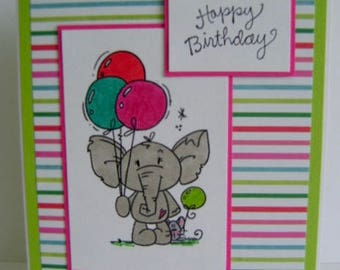 Value Priced *** Kid's Birthday note card