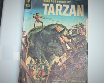 edgar rice burroughs  gold key tarzan  jan 10012-301 comic book