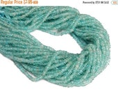45% off Liquidation SALE Apatite Petite Cylinder Beads-- 3-4mm Beads -- ONE FULL Strand (S102B8-03)