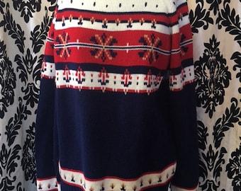 Vintage Inspired Acrylic Fiber Sweater