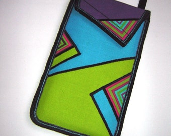 iPhone 7 plus case Neck Pocket smartphone purse Crossbody Cell phone Cover Small Shoulder Cute Mini Sling Bag mix fabrics rainbow