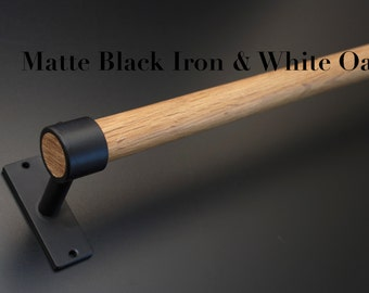 Iron and Quarter-Sawn White Oak, Made to Order