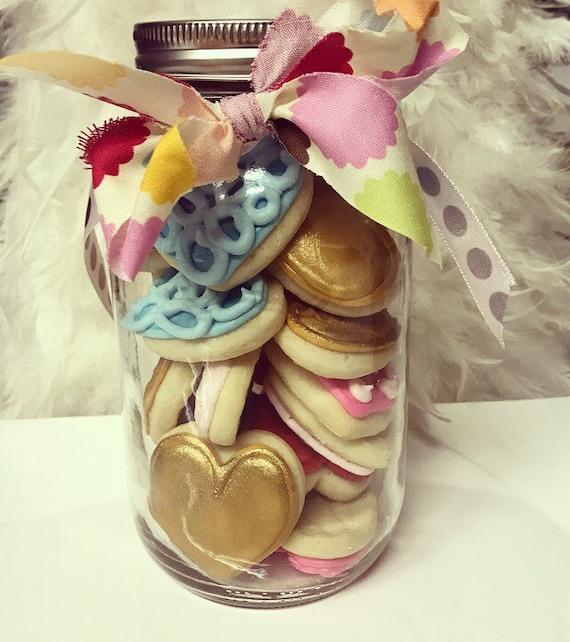 Cookie Jars Valentine Cookies Valentine Gift Heart Cookies Jar