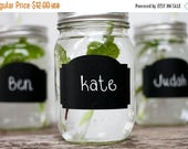 SALE Chalkboard Wedding Favors,Chalkboard Labels for Weddings,Set of 24,Mason Jar Wedding Favors,Mason Jar Labels,Rustic Wedding Decor