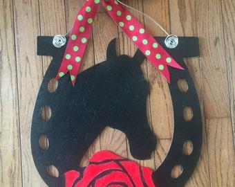 Kentucky Derby Door Hanger