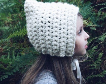 Classic Pixie Hat in Ivory